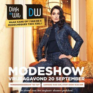 Dirk de Wit Modeshow - september 2019